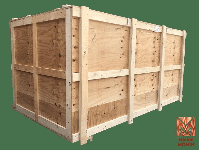grande caisse emballage bois michel