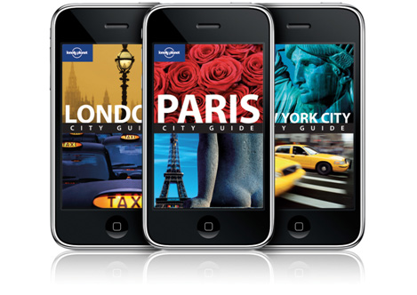 Lonely Planet iPhone city guides