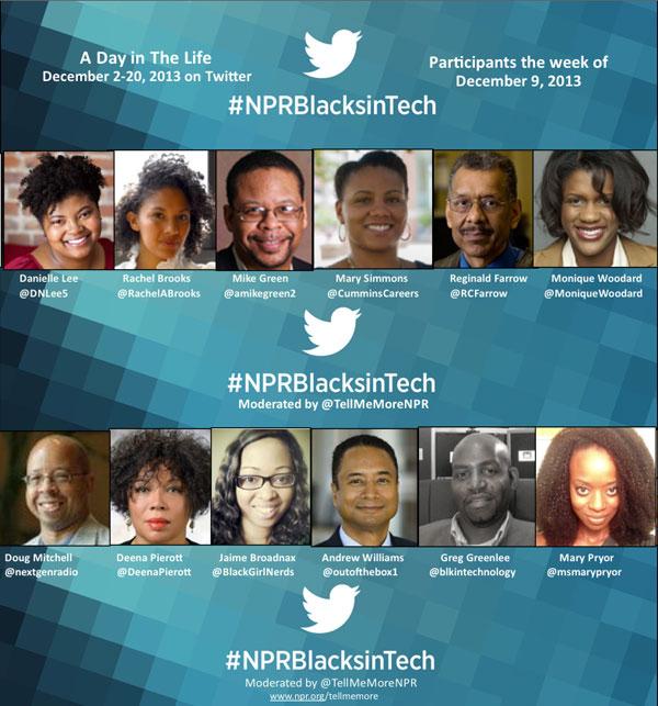 #NPRBlacksinTech Week 2
