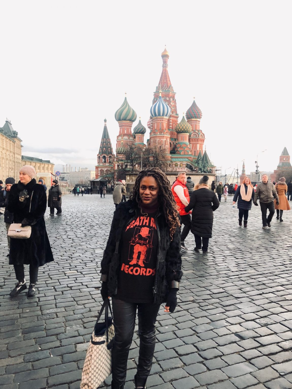Monique Woodard - Moscow, Russia