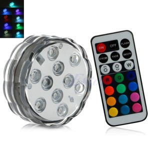10-led-multi-color-submersible-waterproof-wedding-party-vase-base-light-remote-free-shipping-y102