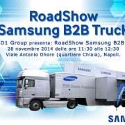 RoadShow Samsung B2B Truck a Napoli il 28 novembre