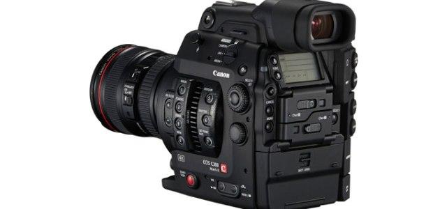 Canon rivede la C300