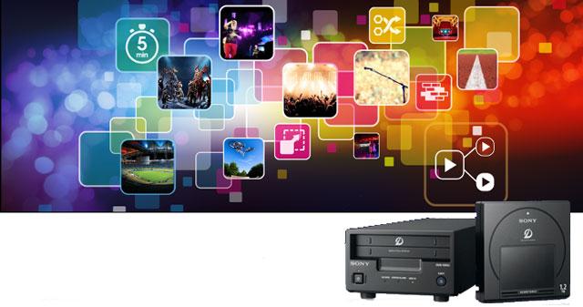 Open Days sistemi di archiviazione Sony ODA e MAM Media Navigator