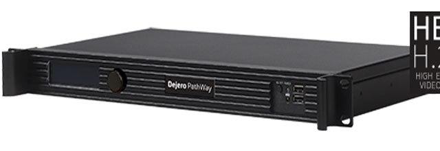 Dejero lancia due prodotti HEVC per la delivery di immagini di alta qualità e bassa latenza