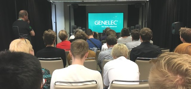 Genelec ad AES Milano 2018