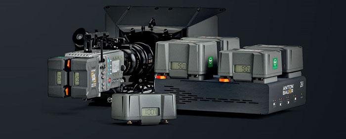 Anton/Bauer lancia la serie Dionic 26V per luci e camere cinema