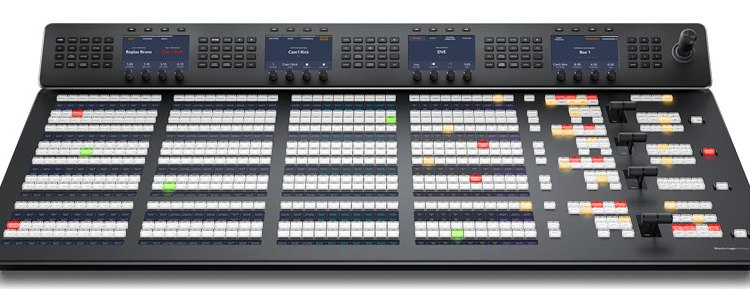 Blackmagic Design presenta i nuovi ATEM Advanced Panel