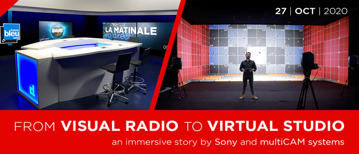 multiCAM Systems – Sony: From Visual Radio to Virtual Studio