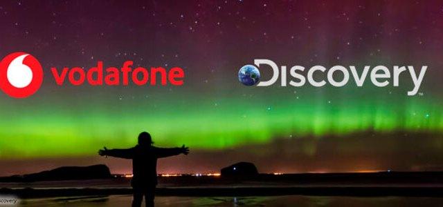 Accordo europeo fra Discovery e Vodafone