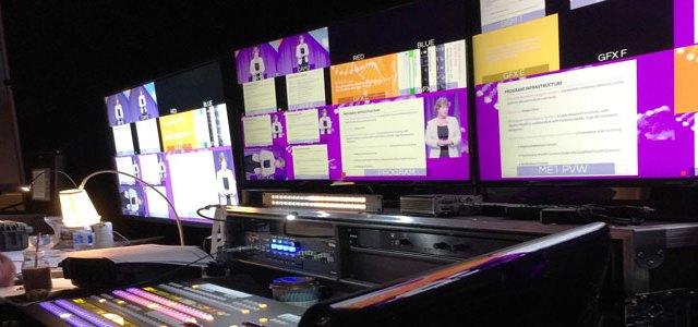 Legacy Production usa un mixer video FOR-A per le videoconferenze aziendali