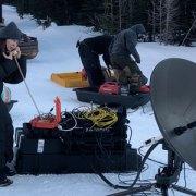 Dejero Cellsat per 'vedere' in diretta le riprese dal set di produzione
