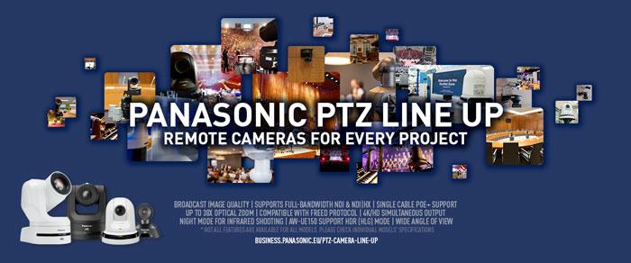 Con telecamere PTZ Panasonic e microfoni Sennheiser chi parla è sempre al centro dell'inquadratura