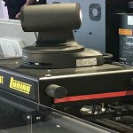 TUNING, sistema robotico con binari integrato con telecamere PTZ Panasonic di alta qualità