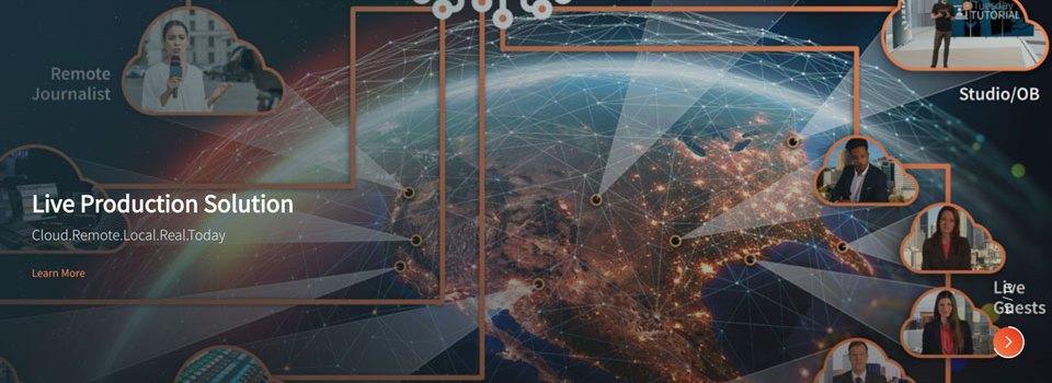Il nuovo Vizrt Live Production è cloud-first, nativo NDI®, a basso rischio, alta qualità