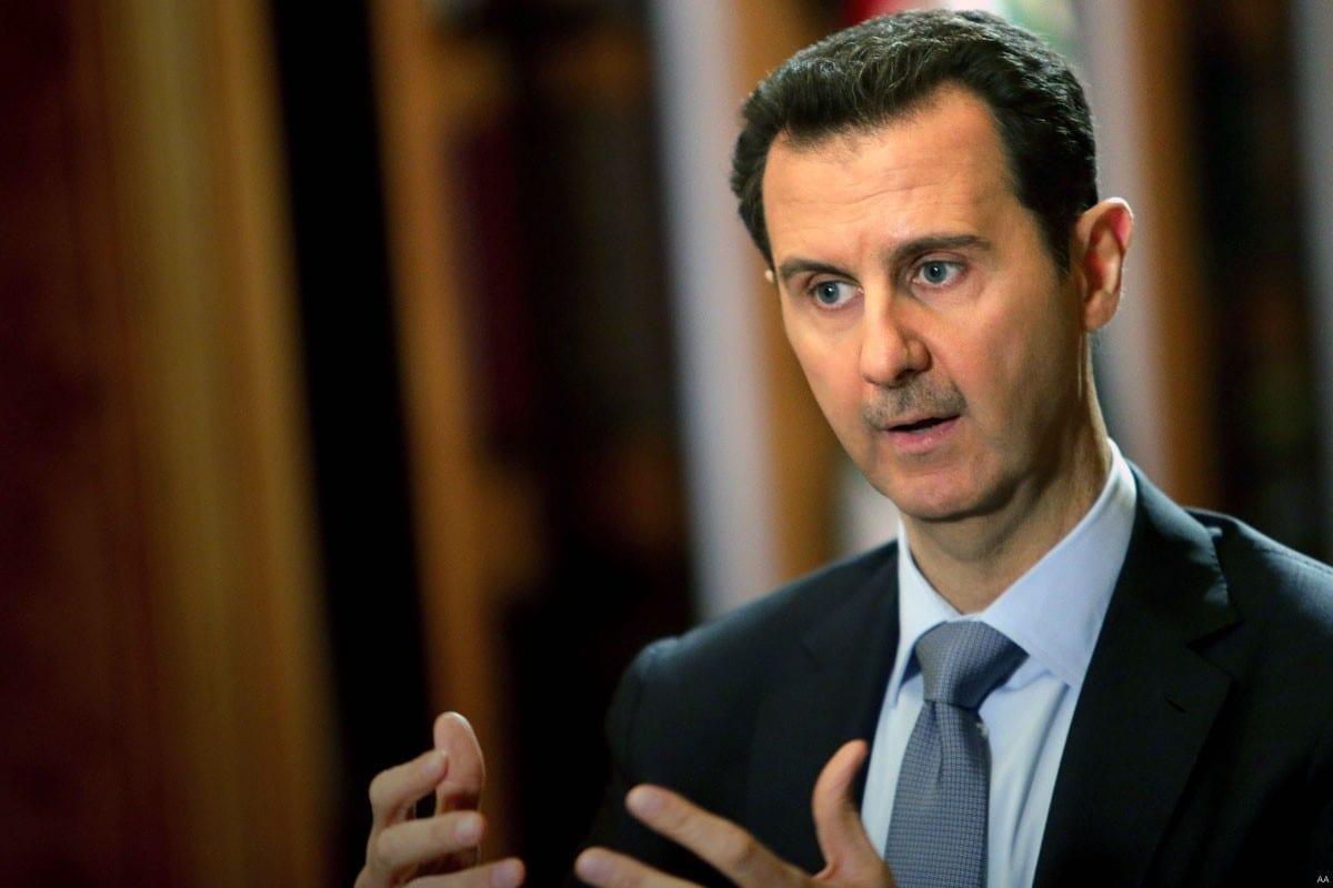 El presidente de Siria, Bashar Al Asad