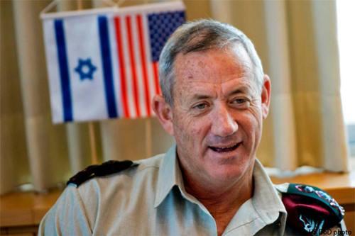 El antiguo jefe de las Fuerzas de Defensa de Israel, Benny Gantz. (foto de archivo)