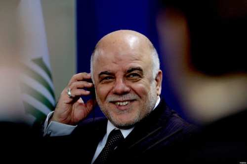 El primer ministro iraquí, Haider Al-Abadi