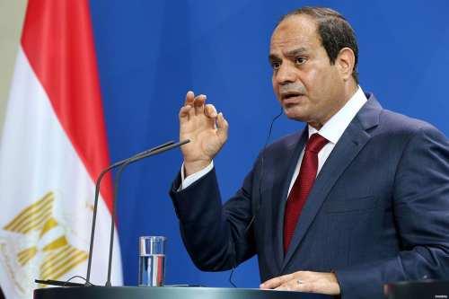 El presidente egipcio Abdel Fattah Al Sisi