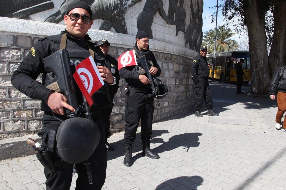 Imagen de archivo de las fuerzas de seguridad tunecinas.