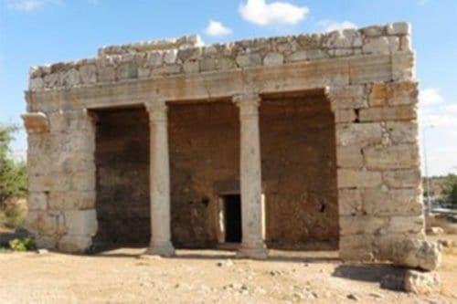 La capilla de Juan Bautista.