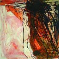 """Map"". Acrylic on Canvas – 100 X 100 cm, 2006. [Rafat Asad]"