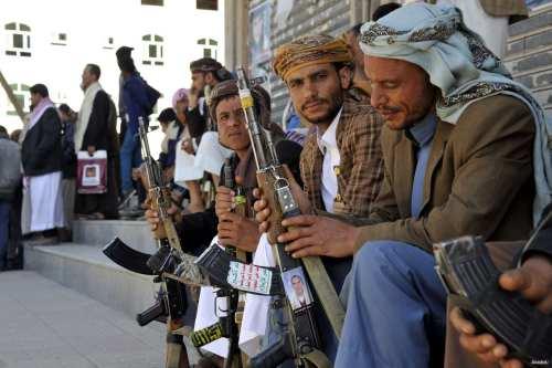 Foto de archivo de rebeldes hutíes de Yemen.