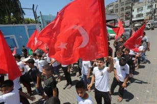 20160716-Gazans-Rally-Against-Coup-Attempt-In-Turkey005