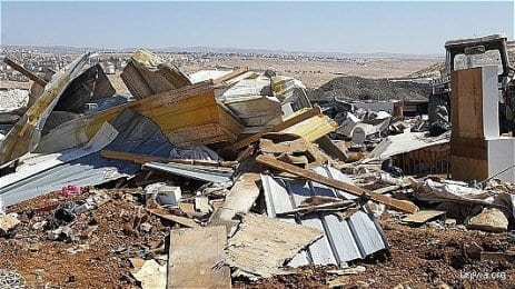 Israeli-demolishes-houses-in-West-Bank-L006