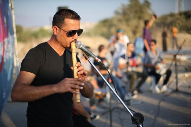 20160807_Palestinian-Music-Band-Performs-At-Erez-Crossing-014