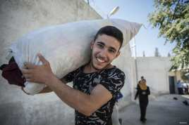 ALEPO, SIRIA: Los sirios vuelven a sus hogares desde Turquía y tratan de volver a la normalidad después de que las tropas sirias consiguieran liberar la ciudad de Daesh por completo.