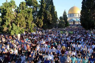 JERUSALÉN, PALESTINA: ¿Dónde está Wally?