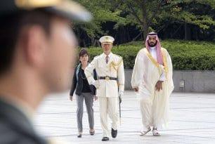 Saudi-Deputy-Crown-Prince-Mohammed-bin-Salman-with-Japan-Tomomi-Inada