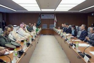 saudi-and-japanese-defence-delegations-meet