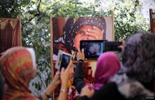 GAZA, PALESTINA; Descargando la presión