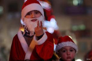 RAMALA, CISJORDARIA- ¡Es Navidad!