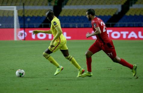 LIBREVILLE, GABON - 23 DE ENERO: Copa de África 2017. Partido de fútbol del grupo B de las naciones entre Zimbabwe y Túnez en el estadio de l'Amitié en Libreville, Gabón el 23 de enero de 2017. (Olivier Ebanga - Agencia Anadolu)