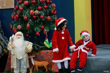 GAZA: ¿Cúal es el verdadero Papa Noel?