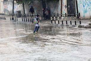 Fuertes lluvias en Gaza