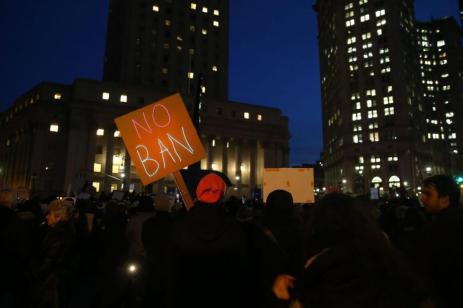 """NUEVA YORK, ESTADOS UNIDOS - 1 DE FEBRERO: """"No más prohibiciones"""""""