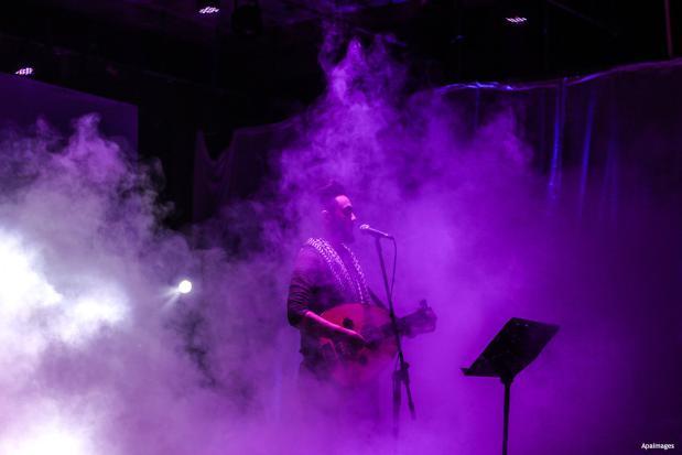 GAZA - Un concierto en apoyo a los enfermos de cáncer