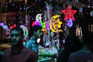 GAZA- Mercado del ramadán