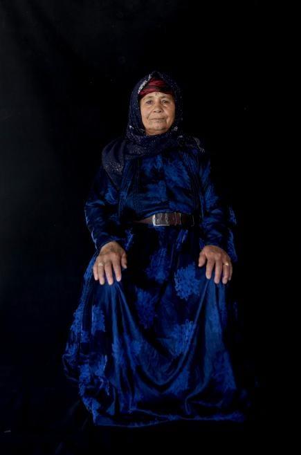 SANLIURFA, TURQUÍA - Exposición de fotos de refugiados sirios
