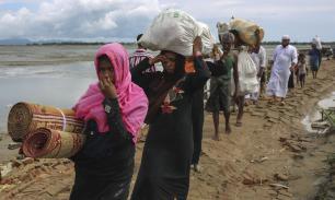 Campo de refugiados en Cox´s Bazar, Bangladesh