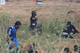 Ibrahim Abu-Thurayya, de 29 años, asesinado por un francotirador israelí durante protestas en Gaza contra el anuncio de Trump sobre Jerusalén, viernes 15 de diciembre de 2017 [Middle East Monitor]