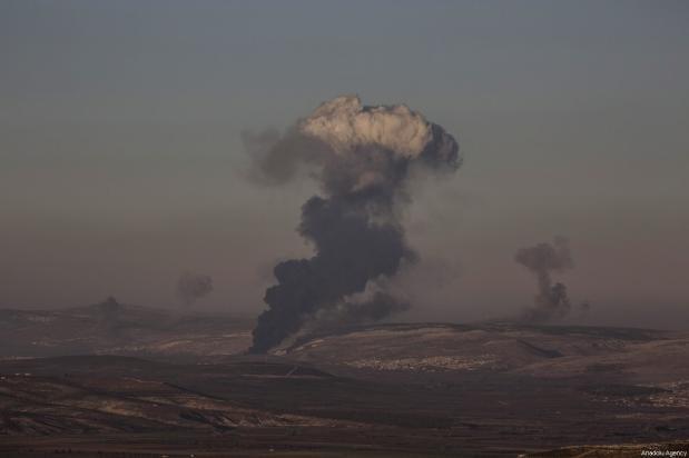 Resultado de imagen de Turquía intensifica sus ataques contra las fuerzas sirias en Afrin