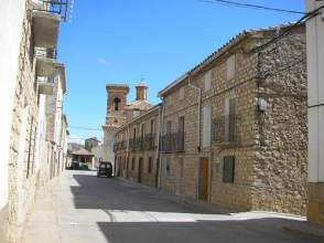 Calle de la localidad de Gea de Albarracín