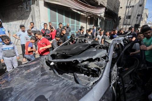 Las facciones palestinas advierten que Israel está retrasando la implementación…