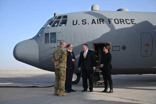 """Pompeo a Iraq: """"Apoya a Estados Unidos contra Irán o…"""