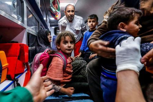 Israel ataca 320 lugares en la Franja de Gaza bloqueada